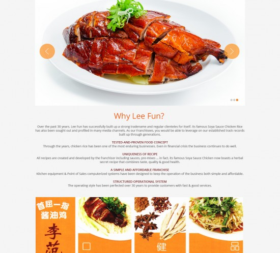 Lee Fun Nam Kee, sgWebster, Web Design